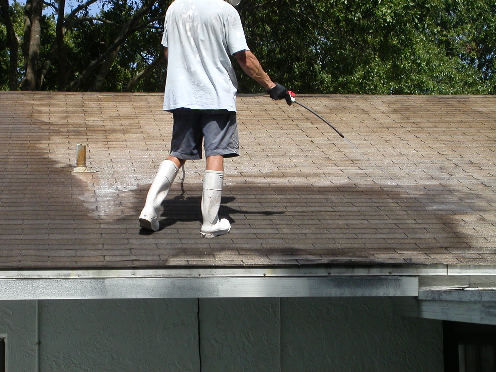 shingle roof cleaning grime bustersgrime busters